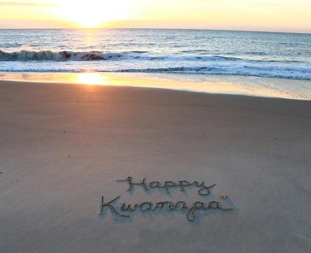Happy Kwanzaa Stockfoto