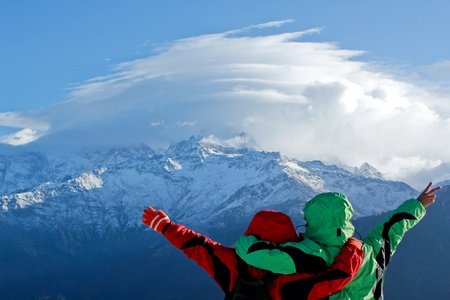 Travel Nepal Stock Photo
