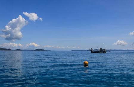 Fisherman boat Stock fotó