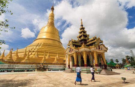 Shwemawdaw temple,Myanmar