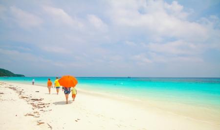Tachai island,Thailand