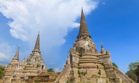 Ayutthaya kingdom , Thailand Stock Photo