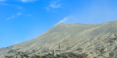 Bromo mountain Indonesia Standard-Bild