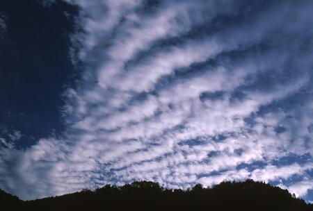 秋の雲 写真素材