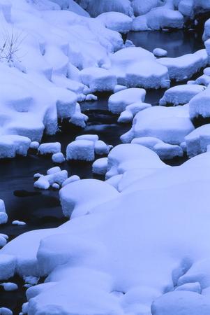 冬の河川敷 写真素材 - 76391552