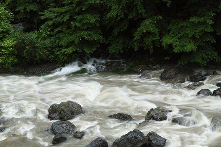 梅雨の季節 写真素材