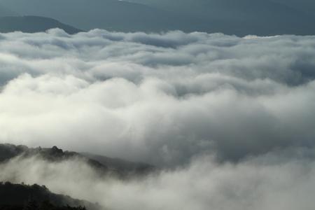 雲の海 写真素材 - 76404587