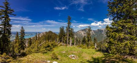 panorama - tegel mountain - Germqany Stock Photo