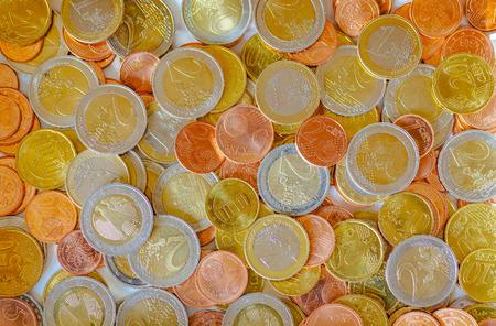 fondos violeta: view of european coins