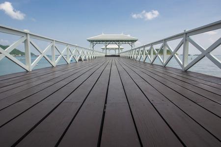 chonburi: Beautiful pavilion on Sichang island, chonburi province,Thailand Stock Photo