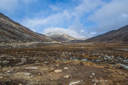 thawed: Mountain dews frozen to thawed in Sikkim, India.