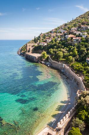 Sea beach in Alanya, Turkey