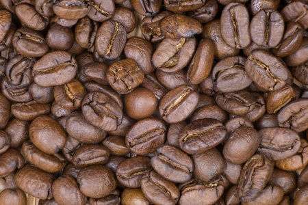 coffeebeans: Roasted coffeebeans Stock Photo