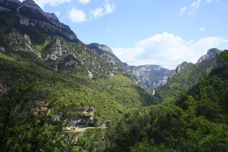 ordesa: views of ordesa, pyrenees