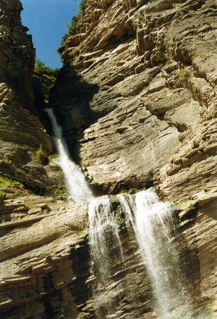 os: Waterfull os Sorrosal, Broto, Pyrenees