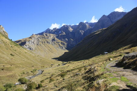 pyrenees: Mountains, Panticosa, Pyrenees. Huesca Stock Photo