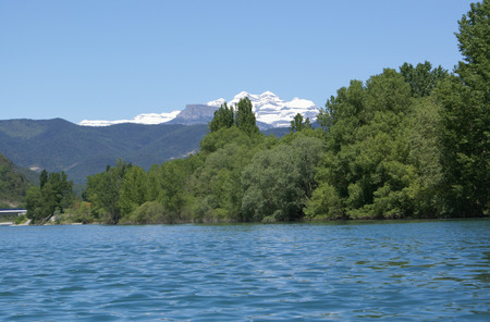 perdido: Views of mountain, Monte Perdido, Pyrenees Stock Photo