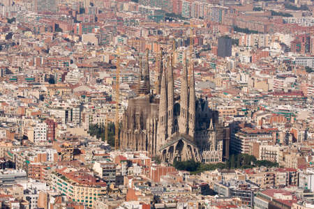 sagrada: Sagrada Familia, Barcelona.
