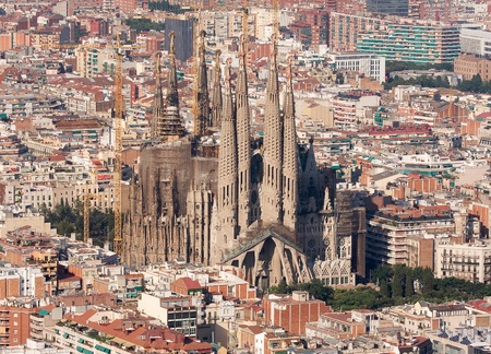 barcelona spain: Sagrada Familia, Barcelona, Spain