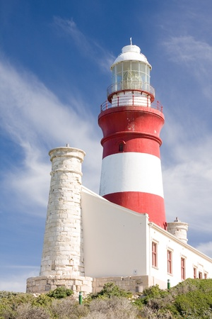 Cape Agulhas lighthouse, South Africa. Stock Photo - 12149998
