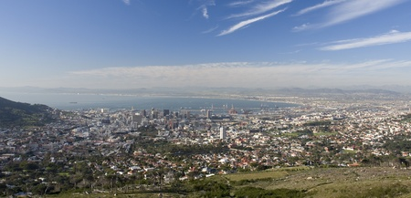 View of Cape Town, South Africa. photo