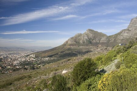 Table Mountain, South Africa. photo