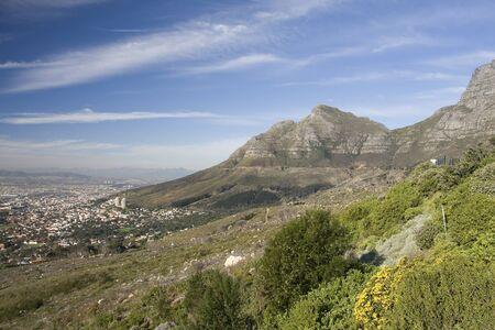 Tafelberg, Südafrika.