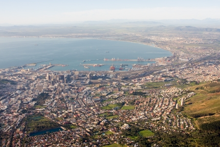 View of Cape Town, South Africa  photo