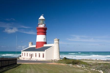 Cape Agulhas lighthouse, South Africa. photo