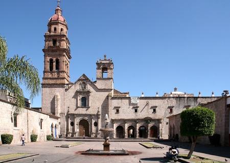 Church of Morelia, Mexico.