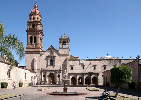 Church of Morelia, Mexico.