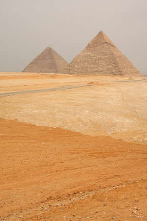 Pyramids of Giza, Egypt. Stock Photo - 12150015