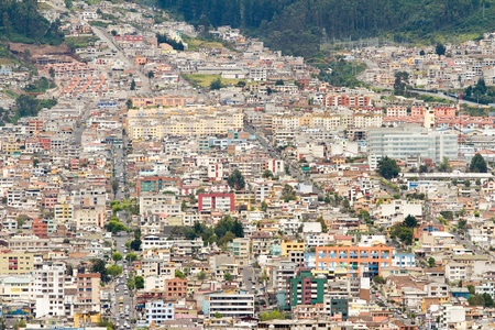 quito: Quito, Ecuador. Stock Photo