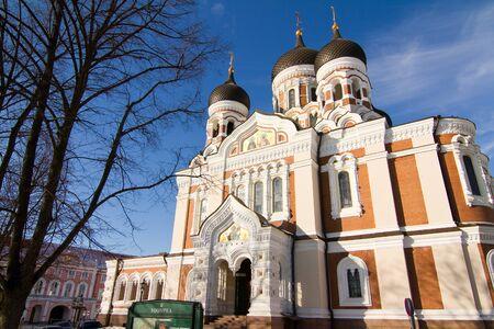 tallinn: Alexander Nevski Cathedral, Tallinn. Stock Photo