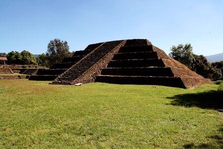Tingambato 遺跡、ミチョアカン州, メキシコ 写真素材