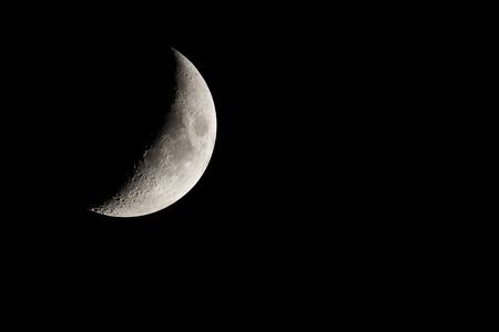 waning moon: Moon.