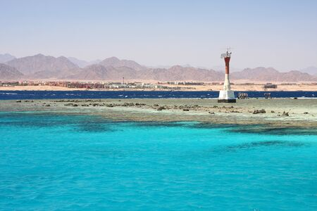Lighthouse, Red Sea Stock Photo - 12527443
