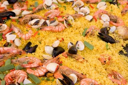 Spanish paella photo