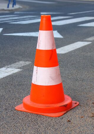 Traffic cone Stock Photo - 13791705