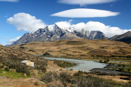 paine: Torres del Paine, Chile Stock Photo