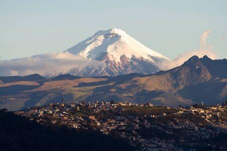 Cotopaxi volcano, Ecuador photo