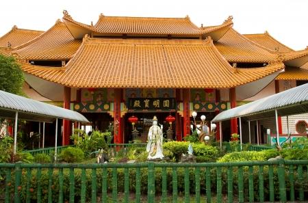 Puh Toh Tze temple, Kota Kinabalu, Borneo