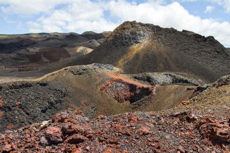 volcan: Volcan Chico, Isabela Island, Galapagos