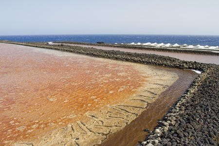 saltmine: Saltpans of Fuencaliente de La Palma, Canary Islands, Spain