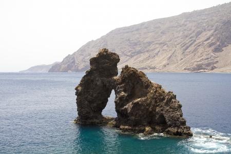 bonanza: Roque de la Bonanza, El Hierro, Canary Islands, Spain