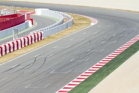 자동차 경주 트랙 스톡 콘텐츠