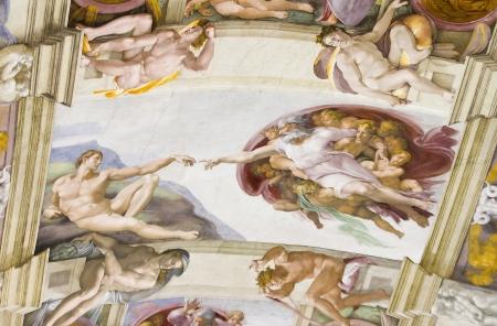 adam: The Creation of Adam, Sistine Chapel