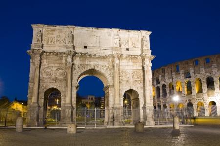 constantine: Arch of Constantine, Rome Editorial
