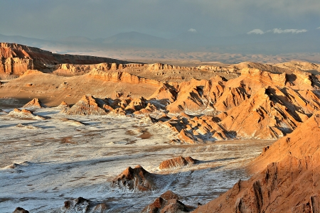Valley of Moon, Atacama, Chile photo