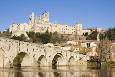 Saint Nazaire cathedral of Beziers, France